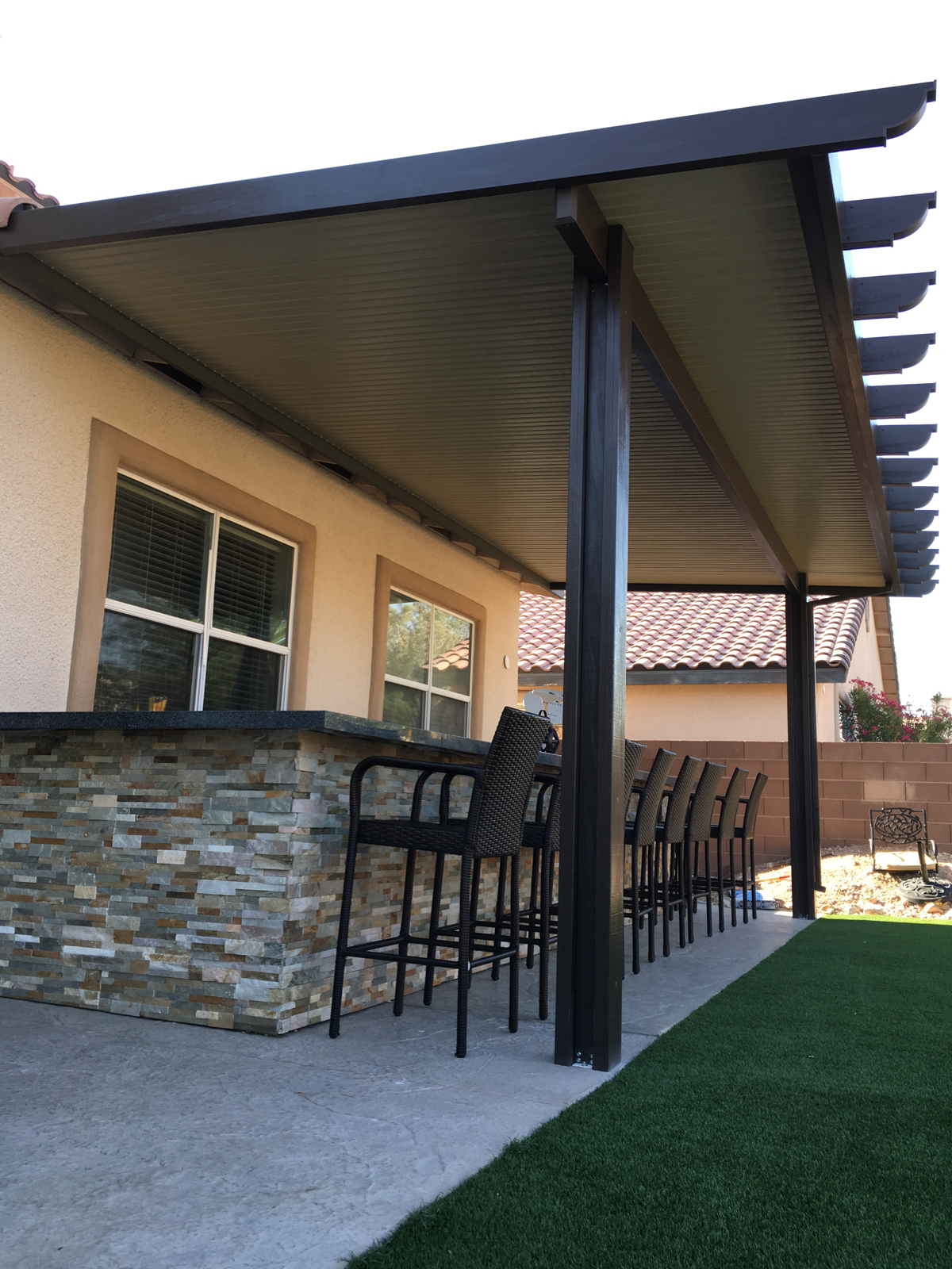 Beau Solid Elitewood Patio Cover