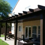 Solid Lattice Alumawood Patio Cover