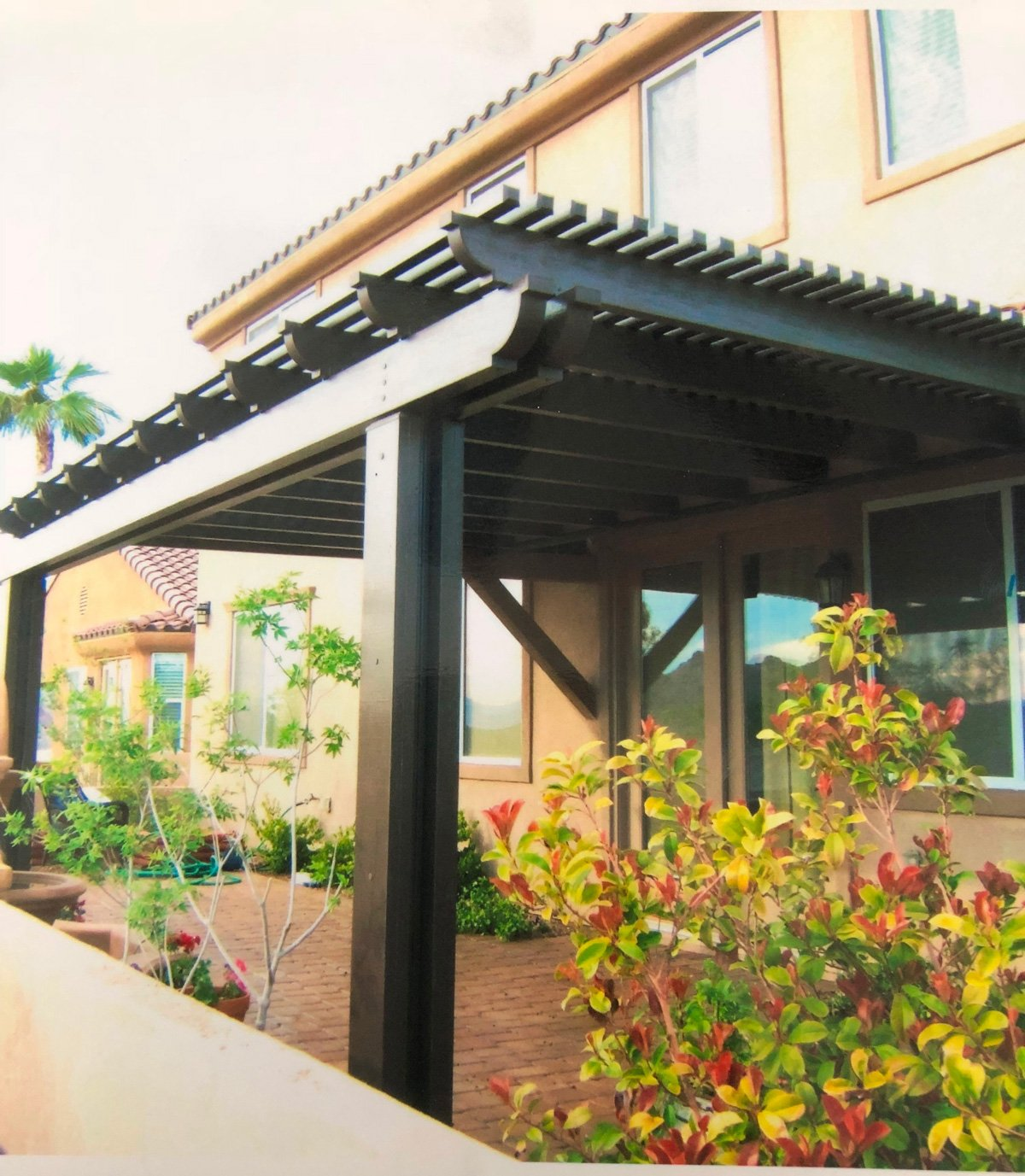 Ultra Patios Modern Las Vegasu2013Lattice Patio Cover